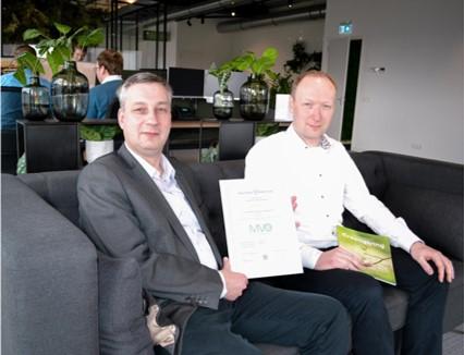 Greengiving behaalt MVO Keurmerk voor de tweede keer