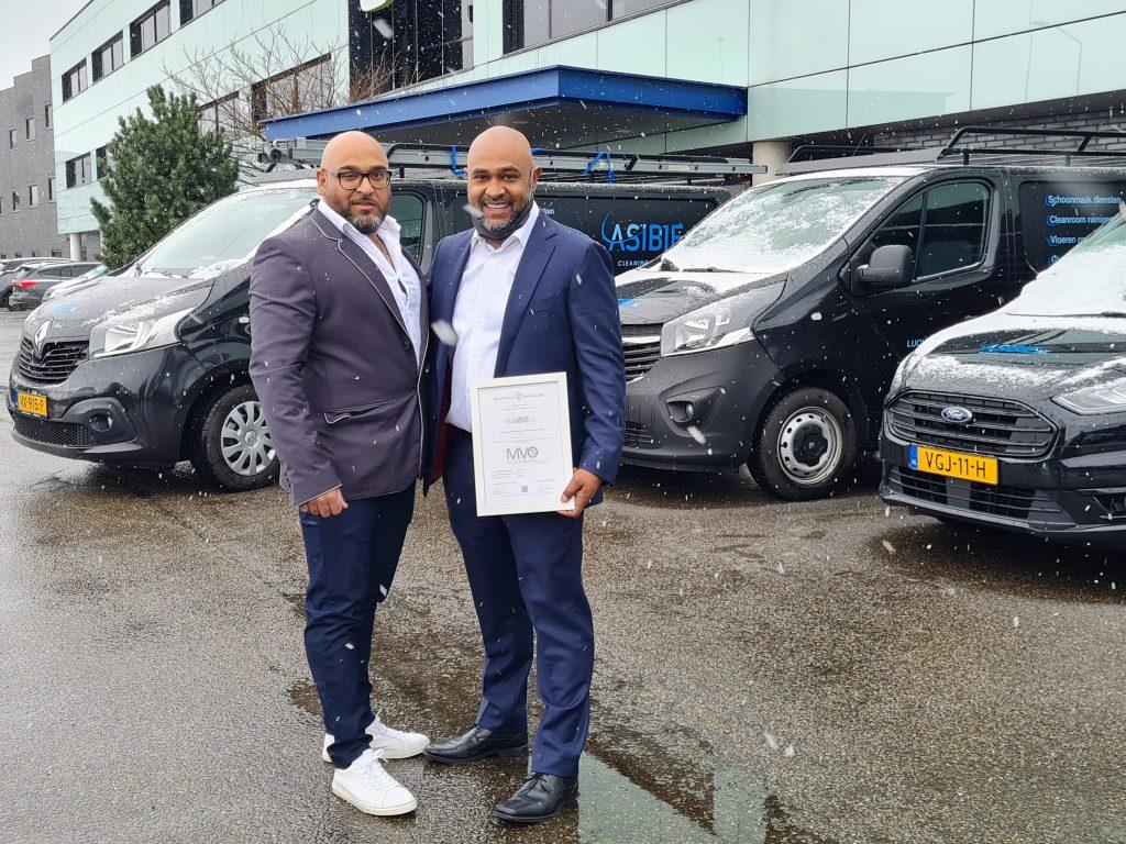 ASIBIE behaalt MVO Keurmerk ISO 26000
